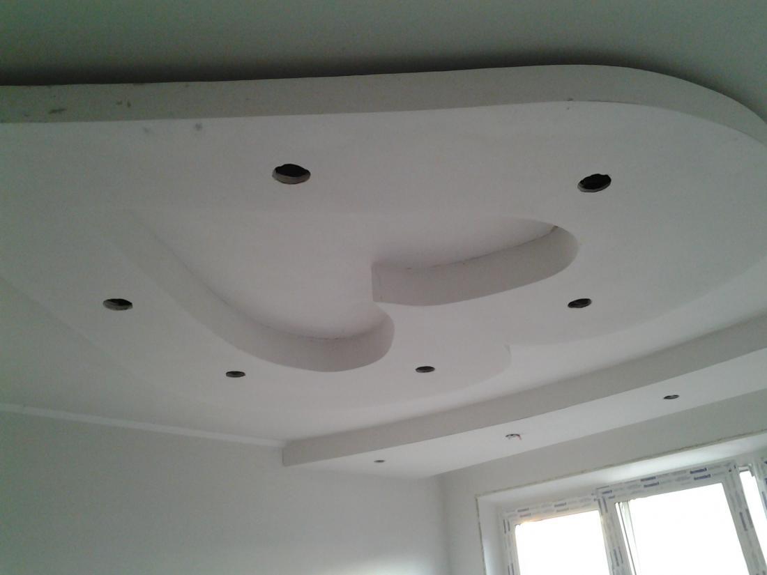 Как правильно сделать гипсокартоном потолок фото 588