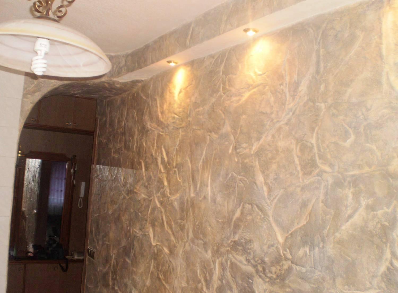 Декоративное оформление стен фото