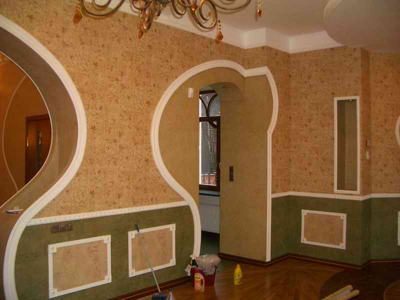 Декорирование стен для дома