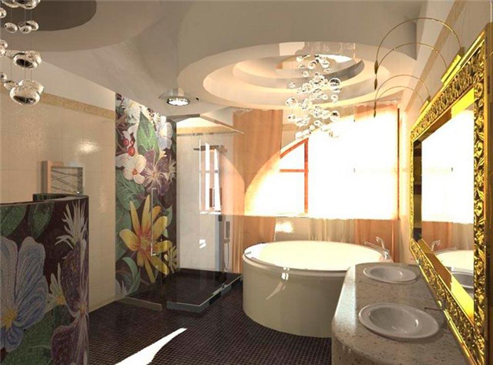 Дизайн интерьер ванных комнат галерея
