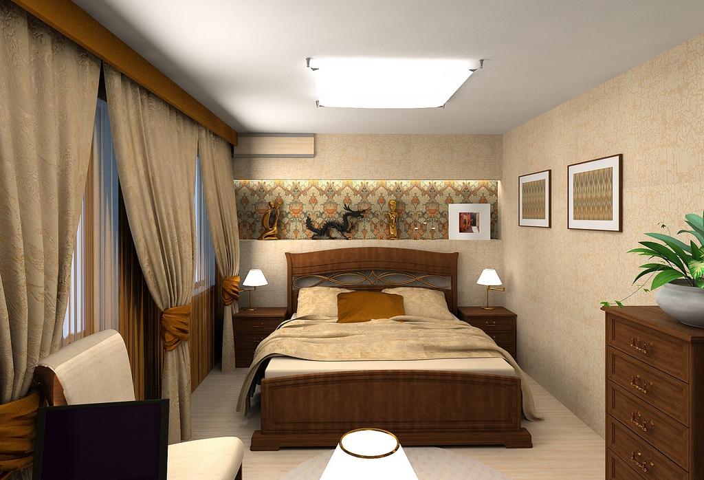 Ремонт спальни в киеве под ключ цены