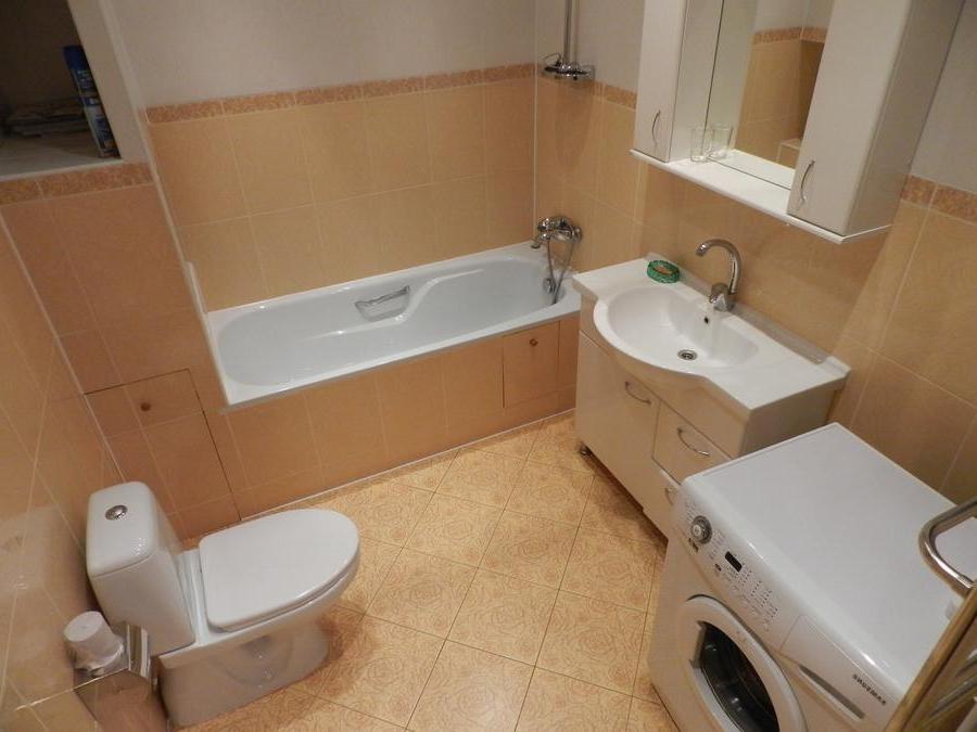 Евроремонт ванной фото