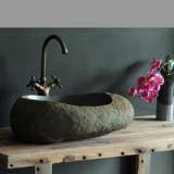 Эксклюзив в ванной: каменная раковина