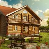 Строительство деревянных домов в Киеве