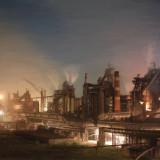 Строительство металлургического завода