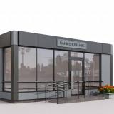 Строительство торговых павильонов в Киеве