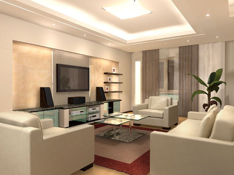 Дизайн современных гостиных комнат
