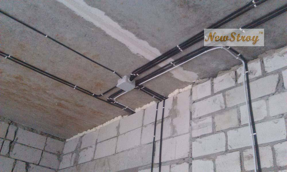Электропроводка в квартире киев