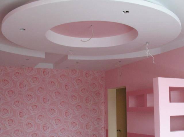 Потолок из гипса зачем нужен