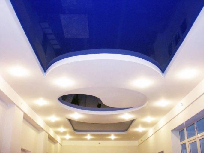 Потолок из гипса фото