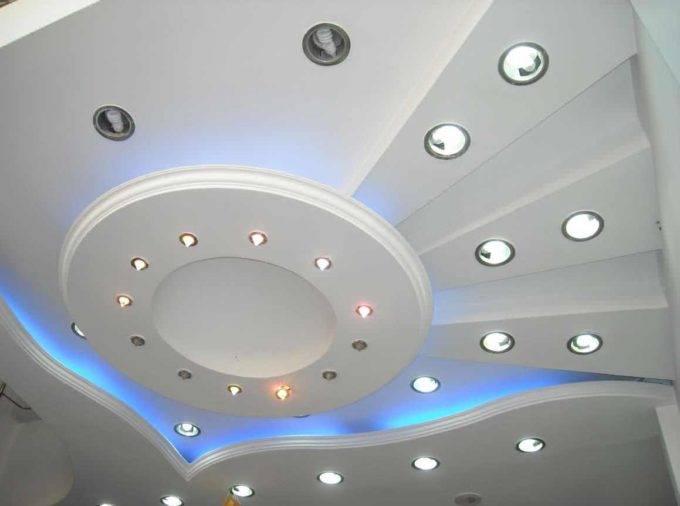 потолок из гипсокартона стоимость работ