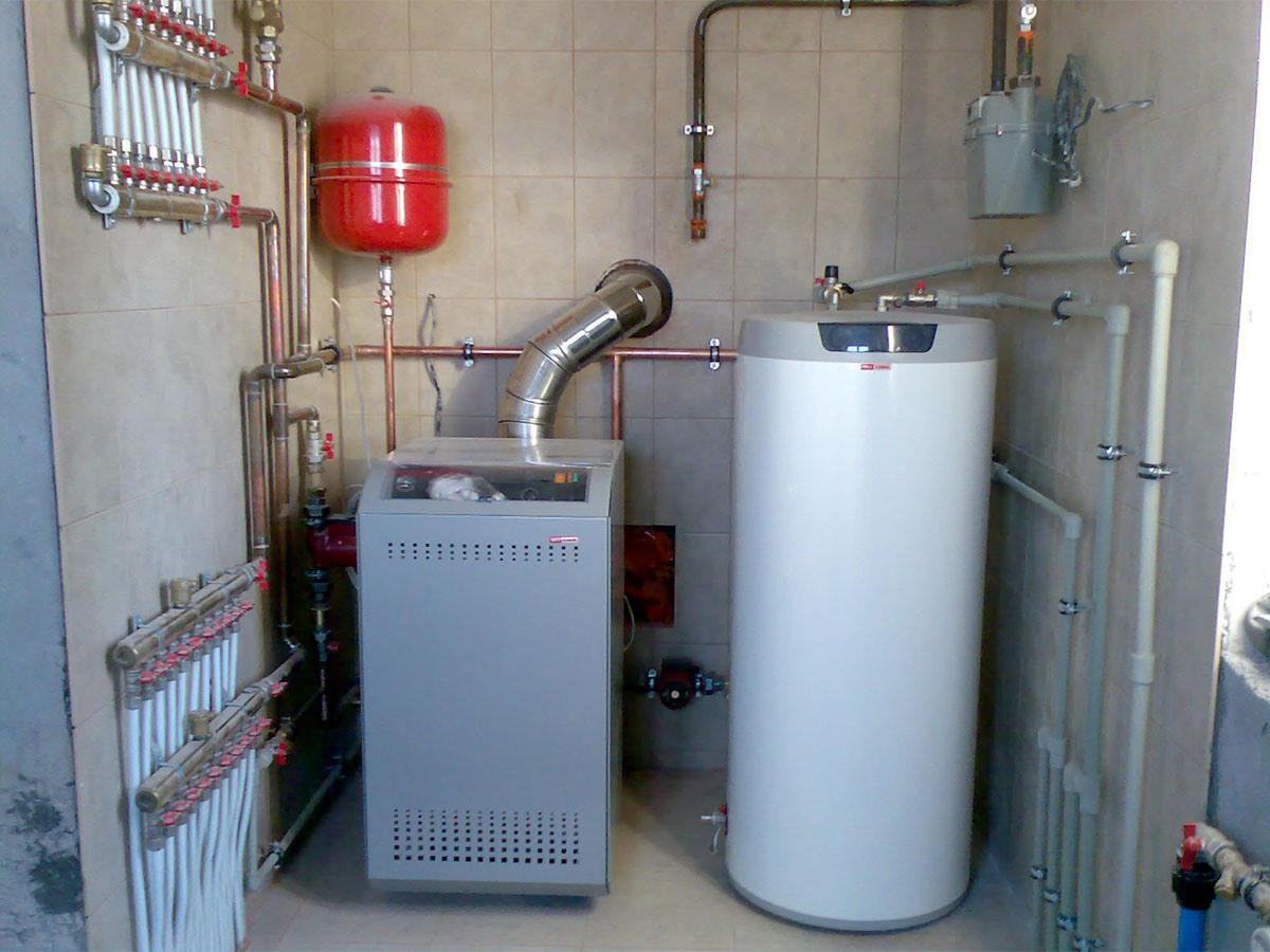 Как сделать систему отопления в доме с газовым котлом
