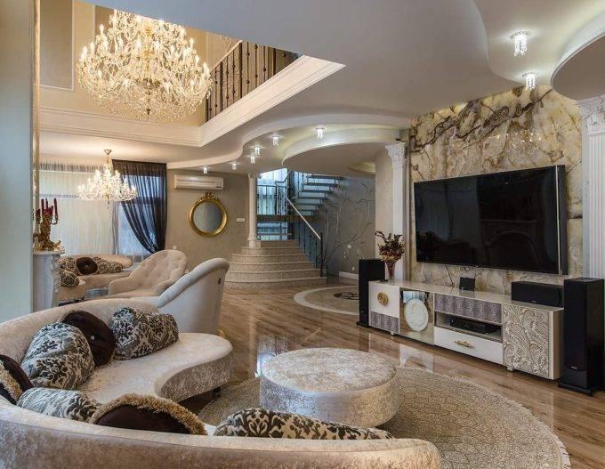 Как оформить дизайн частных домов внутри