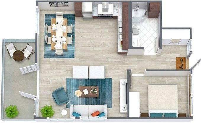 Планировка домов небольшой площади