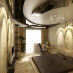 Натяжные потолки - фото 3