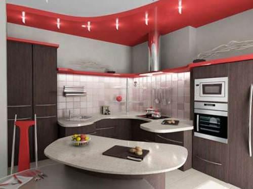ремонт кухни 9м2