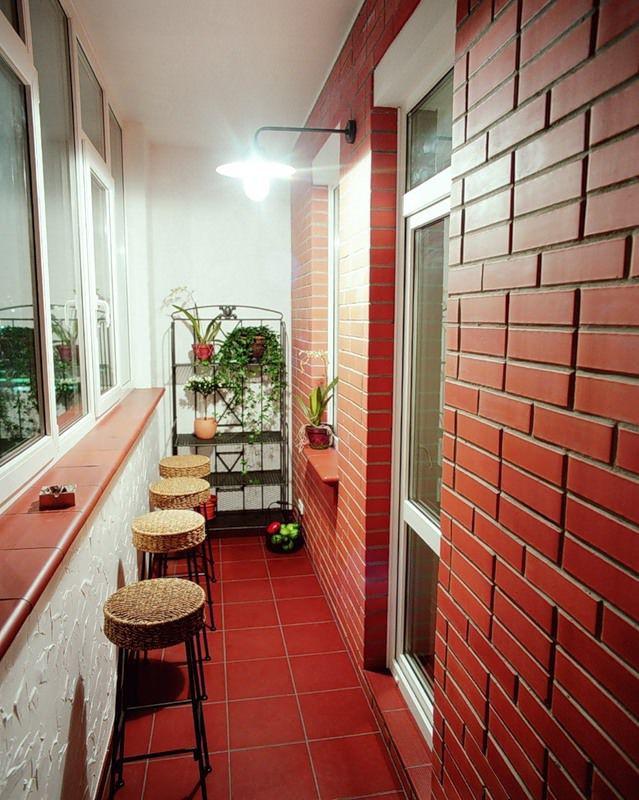 дизайн лоджий и балконов фото