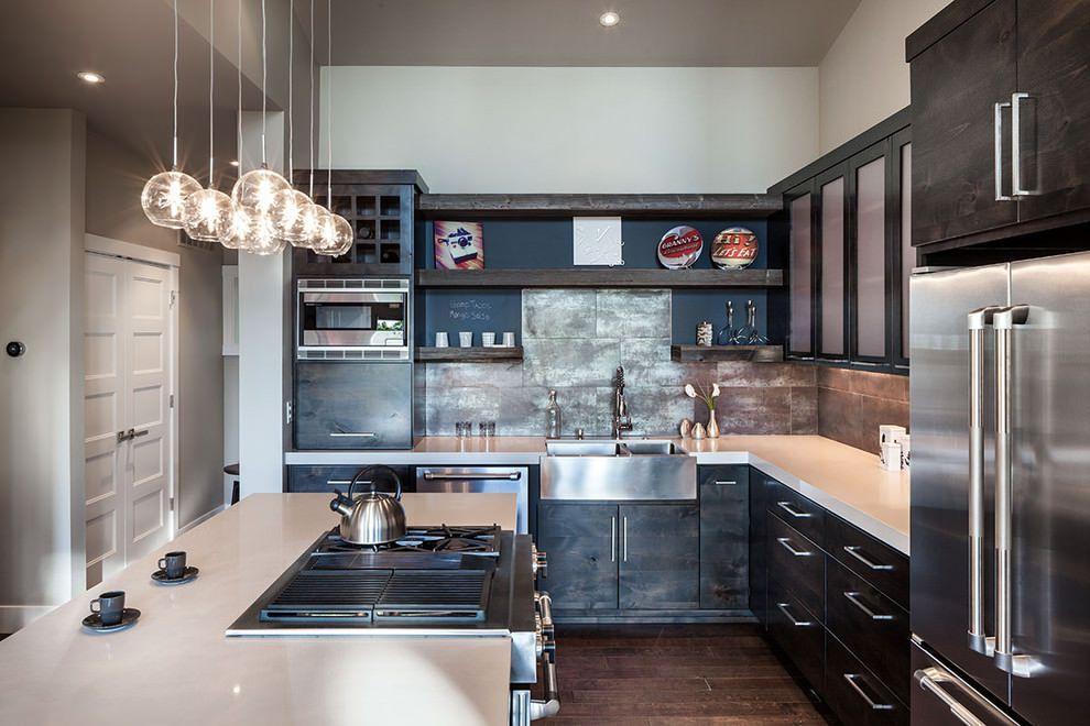 Кухни дизайн квартир фото