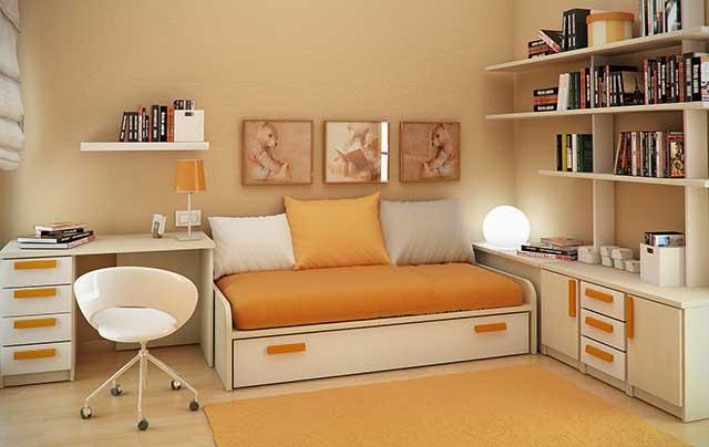 Дизайн небольшой детской комнаты