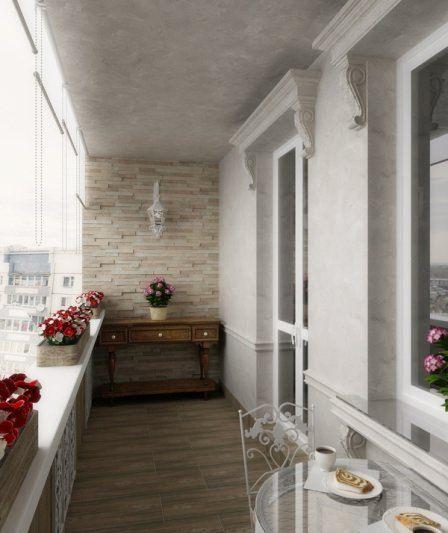 Фото ремонт балкона своими руками в панельном доме
