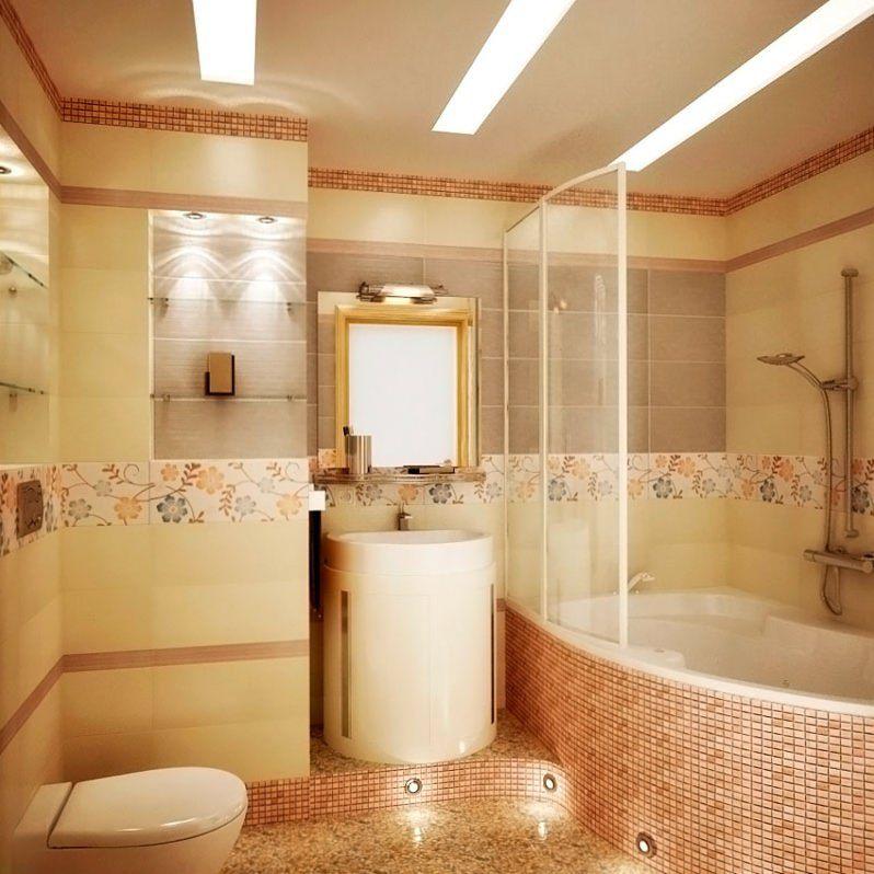 Красивый дизайн в ванной