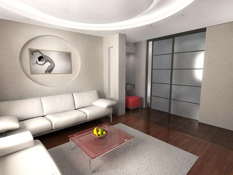 Ремонт дизайн зала