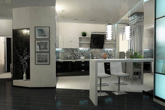 интер кухни фото