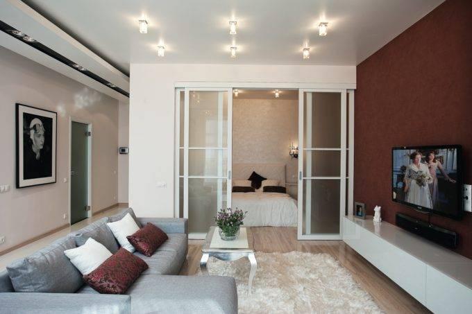 Дизайн малогабаритных квартир с нишей спальней