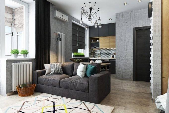 Дизайн малогабаритных квартир с нишей