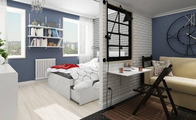 идеи для ремонта однокомнатной квартиры