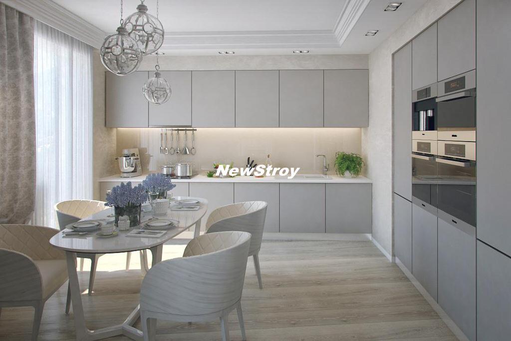 Дизайн трёхкомнатных квартир