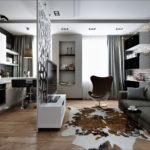 ремонт 1 комнатной квартиры студии фото
