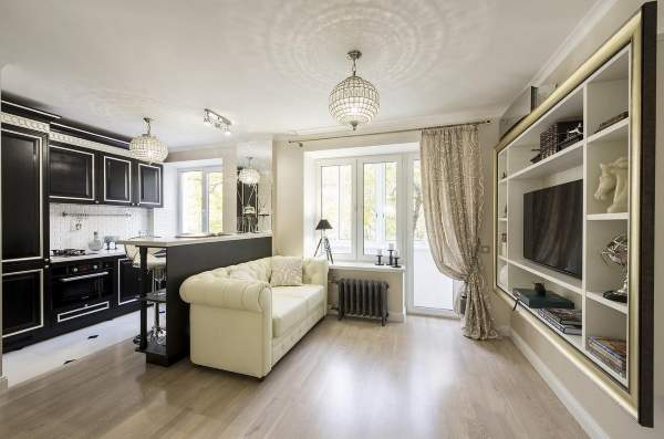 идея для однокомнатной квартиры