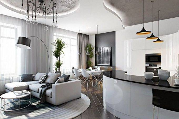 идея для однокомнатной квартиры 40-46-50