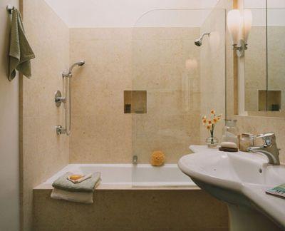 Дизайн ванной комнаты с большой ванной