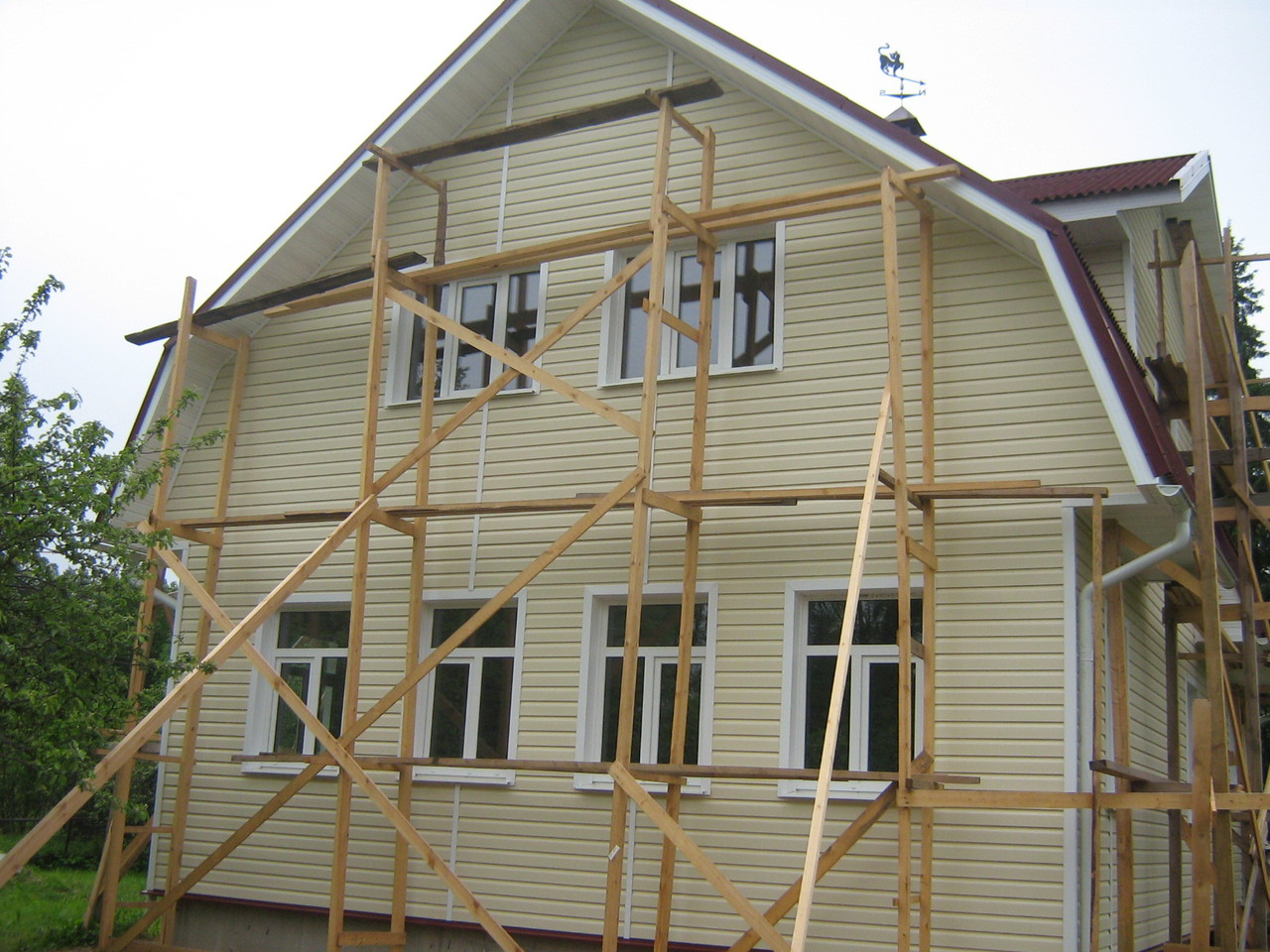 Пошаговая инструкция утепления фасада пенопластом