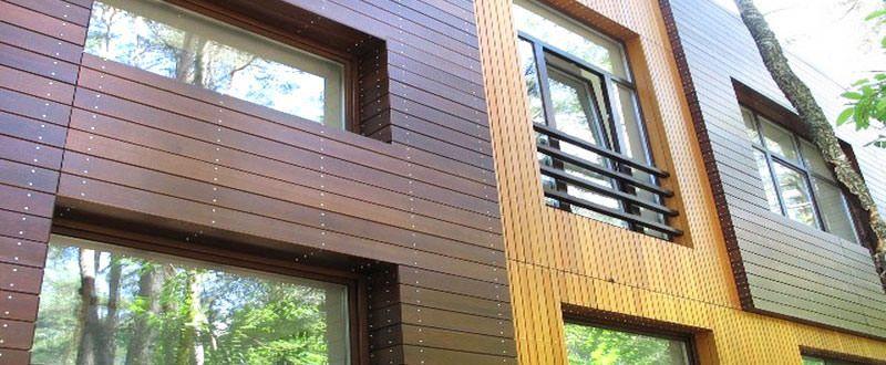 Фасады домов: ремонт, отделка, материалы
