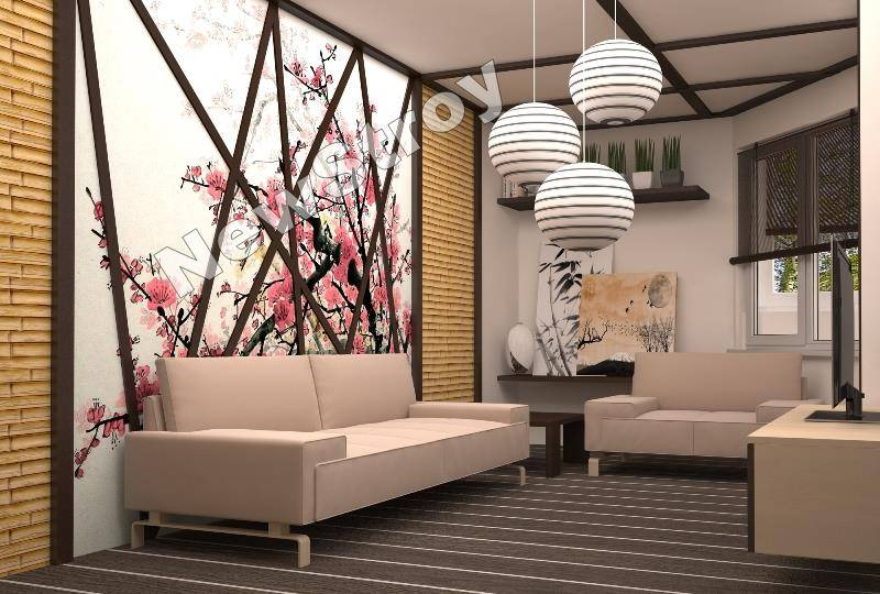 Дизайн однокомнатной квартиры по ул Гашика3