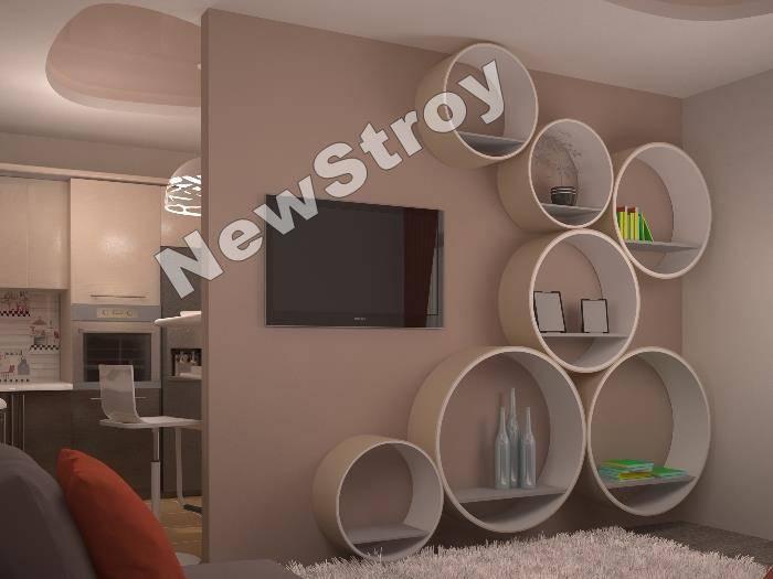 Дизайн трехкомнатной квартиры Комфортаун04