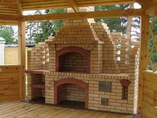 Строительство барбекю под ключ цена барбекю №1 135х59х240 см